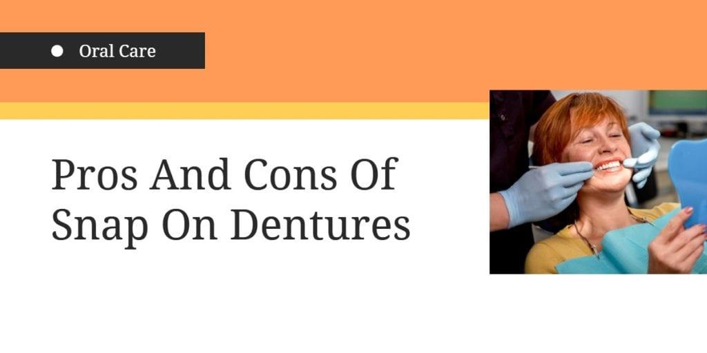 Snap on Dentures