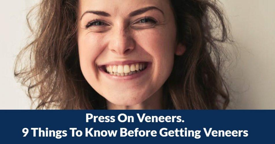 Press On Veneers
